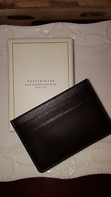 Pottery Barn NEW credit business card holder