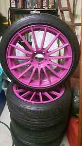 Koya 18x8 Semi Forged Racing Wheels Modbury Tea Tree Gully Area Preview