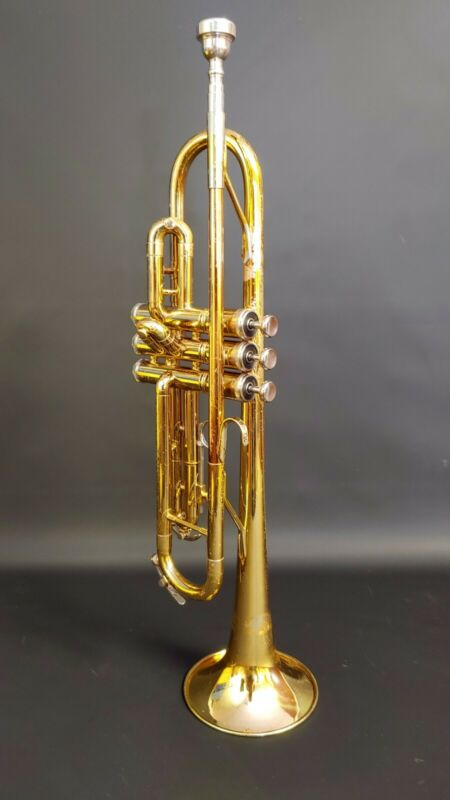 King 600 Bb Trumpet Ready To Play with Case and Mouthpiece Made in USA