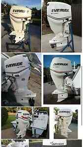 evinrude etec 115hp outboard 2007 Gordon Park Brisbane North East Preview