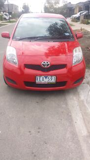 Toyota yaris 2009 model Roxburgh Park Hume Area Preview