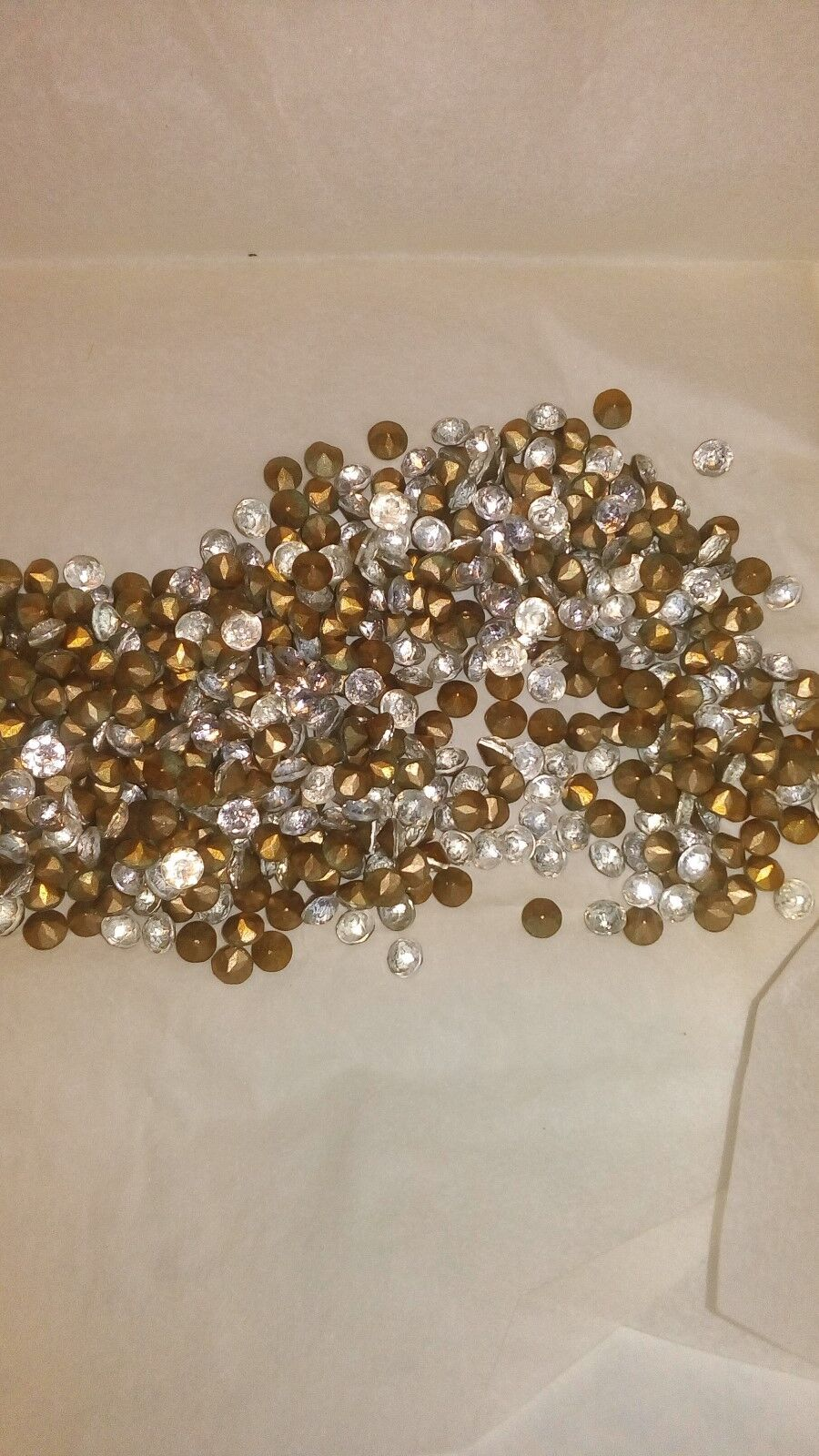 vintage 48 chatons en verre SS22 crystal