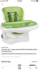 High chair/ booster seat
