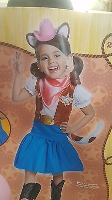 Sheriff Callies Wild West Costume Rubies 11505 Girls Infant Toddler Cowgirl Cat (Cowgirl Costume Baby)