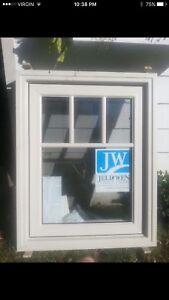 BRAND NEW JELDWEN VINYL CASEMENT WINDOW