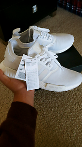 *URGENT* BRAND NEW ADIDAS NMD R_1 TRIPLE WHITE Modbury Tea Tree Gully Area Preview
