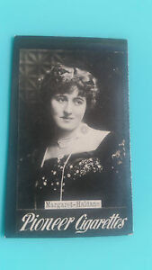 RICHMOND CAVENDISH PIONEER 1903 photo cigarette tobacco card ACTRESSES Haldane