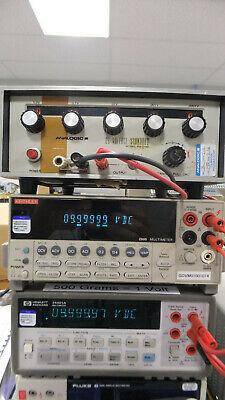 Analogic An3100 Precision Dc Voltage Standard Calibrator 1