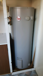 Rheem Electric hot water heater. Purchased in July 2017.