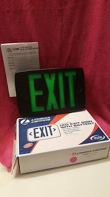 Lithonia Led Exit Sign With Battery