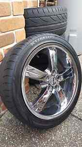 18 inch CSA Chrome wheels to suit Ford Falcon. Forest Lake Brisbane South West Preview
