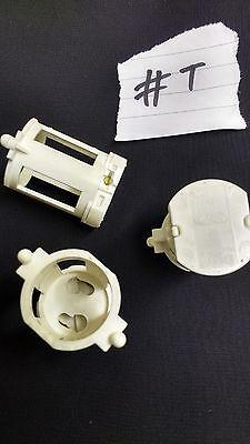 10 x 2 Pin Snap Fit Cage Starter Holder Fluorescent Light Lamp Bulb VS Spacer #T - Fluorescent Light Cage