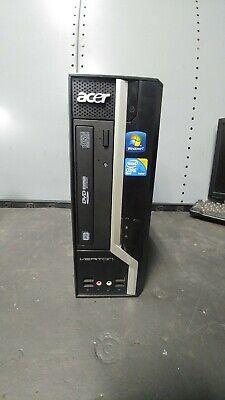 "Acer Veriton core 2 quad X480g Tower ""No Hard Drive"""
