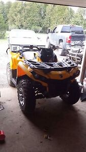 Canam outlander 1000 fuel pump and seat
