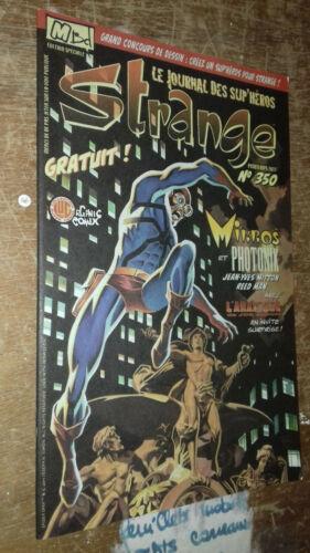 rare LUG - STRANGE 350 - édition spéciale - printemps 2011 - MITTON - joe simon