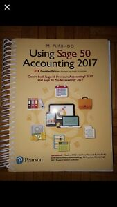Sage 50 2017 accounting book Sheridan college semster 4