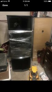 2 tv wall units mint condition
