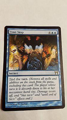 1x TIME STOP - Rare - Kamigawa - MTG - NM - Magic the Gathering