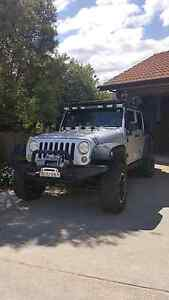 2009 Jeep wrangler unlimited sports Theodore Tuggeranong Preview