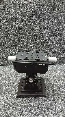 Thorlabs Ap180 Adjustable Angle Mounting Plate Dt25 Dovetail Translation Stage