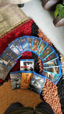 Bluray Pack 20 Filme ohne kratzer und gebrauchspuren