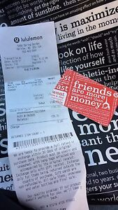 $135.70 Lulu Lemon Store Credit for $120 FIRM
