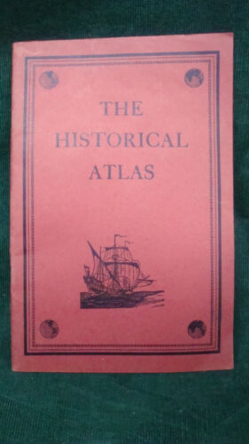 Vintage 1937 - The Historical Atlas Paperback, published by C. S. Hammond