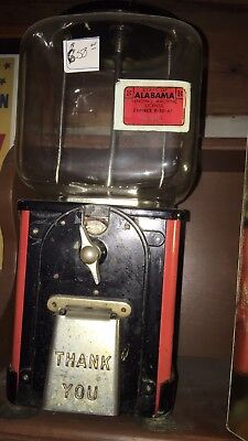 Old Bubble Gum Machine Victor  Topper 1950's