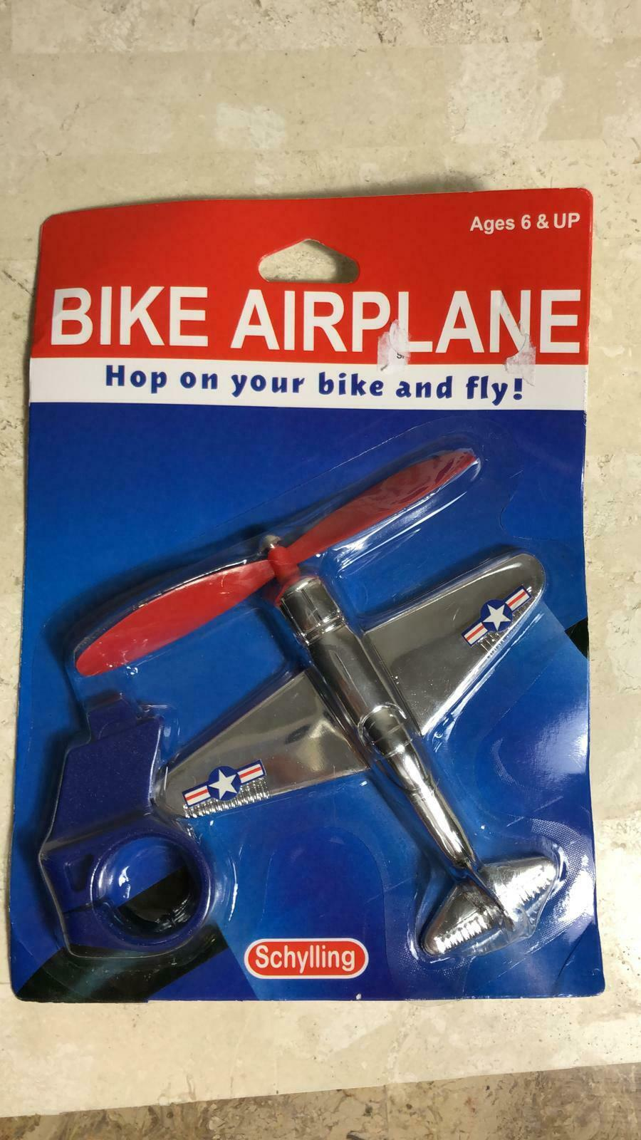 NEW kids BIKE AIRPLANE handlebar retro propellor bicycle tricycle toy !!!  (9.99 USD)