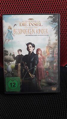 Tim Burton Kinder (Die Insel der besonderen Kinder von Tim Burton | DVD | Zustand sehr gut)