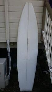 8FT SURFBOARD MINI MAL LONGBOARD FISH FUN SHAPE BOARD SURF BLANK Doonan Noosa Area Preview