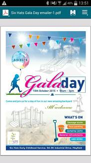 Gala Day 6 Hats Community Day Care Mayfield Mayfield West Newcastle Area Preview