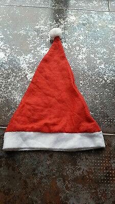 Hut Filz Mütze mit Bommel Nikolaus Weihnachtsmann TOP! (Weihnachts Top Hut)