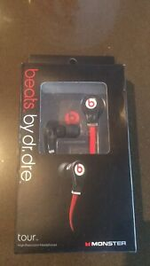 Brand new Beats by Dr. Dre Tour in-Ear Headphones