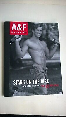 ABERCROMBIE & FITCH Magazine Christmas 2004 Stars On The Rise Jeremy Bloom