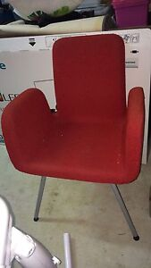 Comfy red chair Manly Brisbane South East Preview