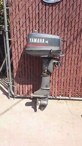 Yamaha 4HP Trolling Motor Inflatable Kayak Outboard Motor Inflatable Boat Motor