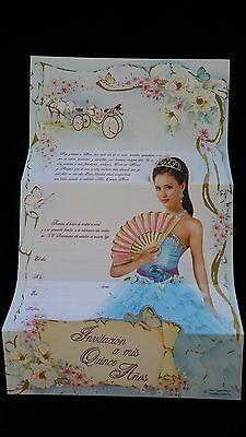 100 Invitaciones de Quinceañera (Spanish Quinceañera Invitations),Favors 15 años (Quinceañera Invitations)
