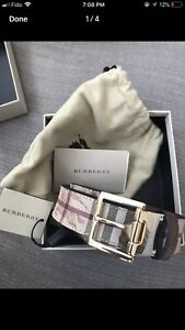 Authentic Burberry belt! Size 36 all new with tag!
