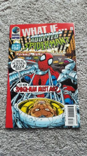 Marvel Comics - What If - No 82 - FEB 1996 - J Jonah Jameson Adopted Spider-Man