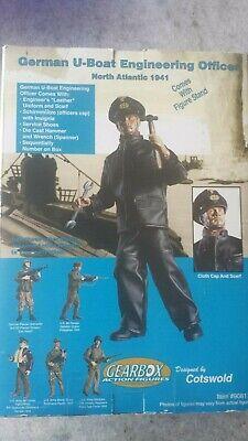 German U-Boat Officer North Atlantic 1941 Figure