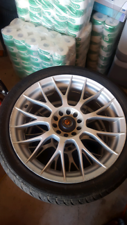 Wheels/Hankook/Federal tyres 265/35/18 and 245/40/18