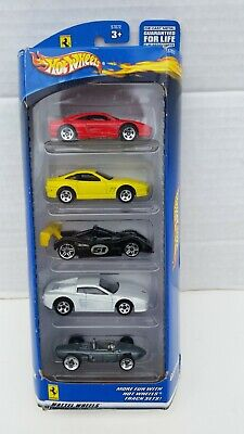 Hot Wheels Ferrari 5 Pack #57072 Mattel