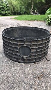 Septic tank extension rings