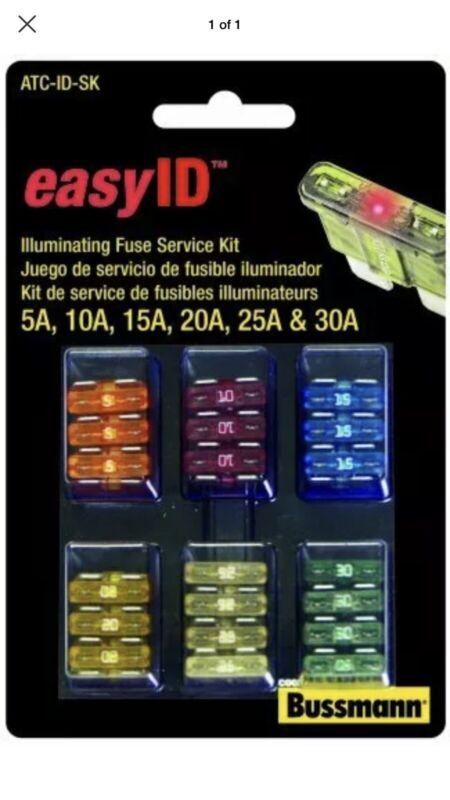 Bussmann ATC-ID-SK easyID Fuse Assortment Kit - 42 Piece