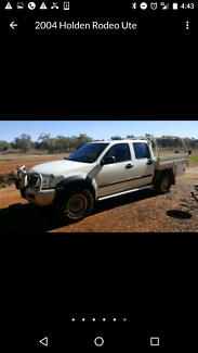 Holden Rodeo 2004 Diesel dual cab 4x4