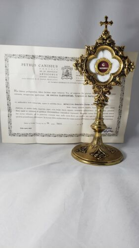 1st Class Relic of Saint Apollo V. M., with Document, Church
