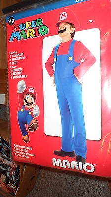 Brand New Never Opened Super Mario Halloween Costume Boys Size 6