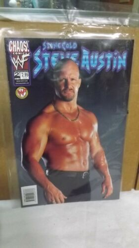 Chaos! Comics WWF Stone Cold Steve Austin #2 Comic WWF Official Licensed Product