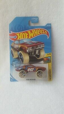 HOT WHEELS 2017 ART CARS 1970 OLDS 442 W30